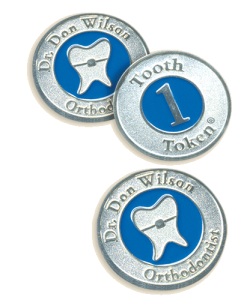 Don L Wilson DDS MSD Novato CA 94945 Tooth Tokens