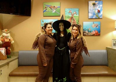 The Wicked Witch and her Flying Monkeys!