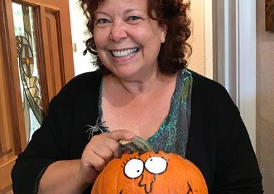 Pumpkin Contest Winner: Silliest - Roni Dawn Douglas DDS