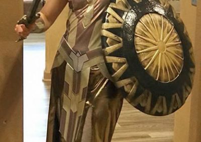Charis as Queen of the Amazons!