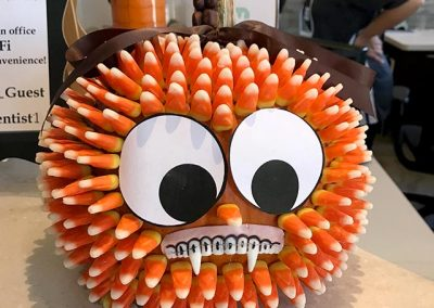 Pumpkin Contest Winner: Best Fangs - Tamal Vista Family Dentistry