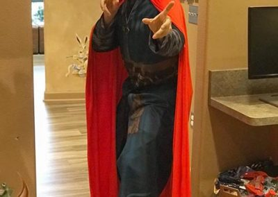 Dr Don as Doctor Strange!