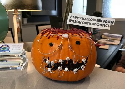 Pumpkin Contest Winner: Best Braces - Jennifer Dole DDS