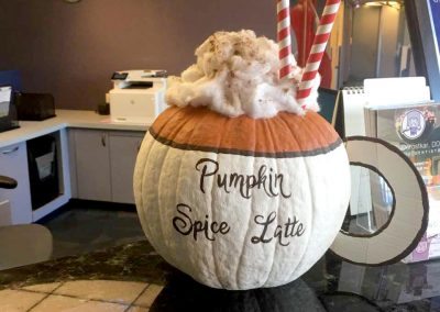 Pumpkin Contest Winner: Most Delicious - Gila C. Dorostkar DDS