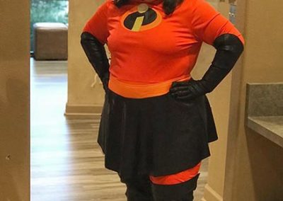Tiffany as Mrs. Incredible!