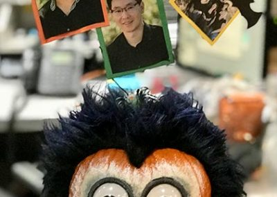 Pumpkin Contest Winner: Wild and Craziest! - Lawson Evans DDS