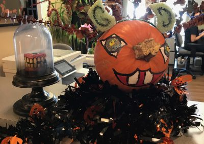 Pumpkin Contest Winner: Most Creative - Melissa Rinck DDS